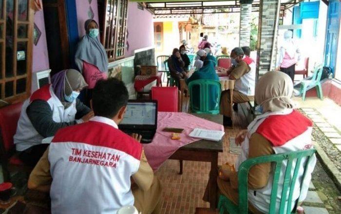 Vaksinasi COVID19 wilayah Puskemas 1 Wanadadi