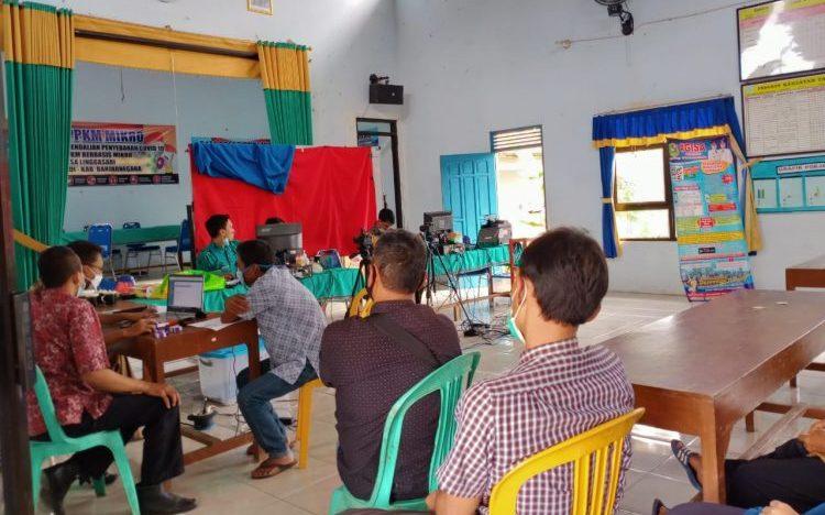 Pendampingan jemput Bola Pelayanan KTP di Desa Linggasari